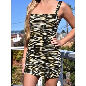 NWT Motel tiger print dress